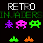 Retro Invaders Logo