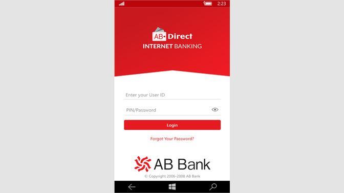 Get AB Direct Internet Banking - Microsoft Store