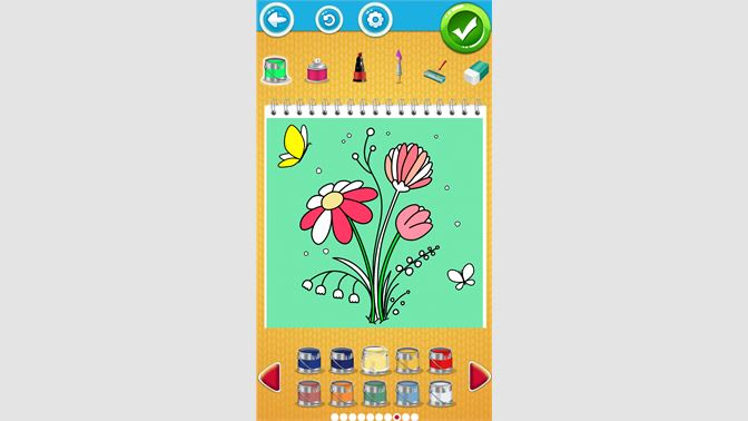 Coloriage Fleur Ms.Recevoir Coloriage Fleur Microsoft Store Fr Fr