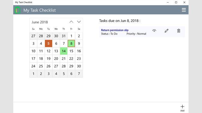 Buy My Task Checklist - Microsoft Store