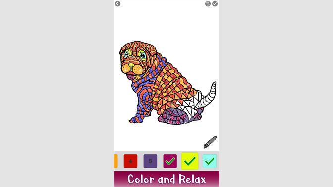 Dogs Glitter Color by Number - Animals Coloring Book beziehen ...