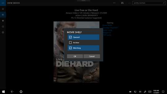 Moviequeue screenshot 4