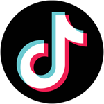 Tiktok Video Play and Download Logo