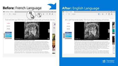 Translator for Microsoft Edge Screenshots 2