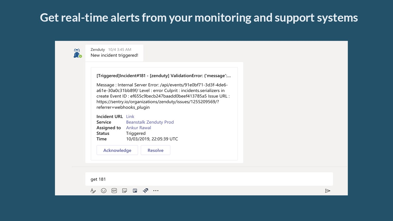 Sending Azure Monitor outage notifications to Microsoft Teams