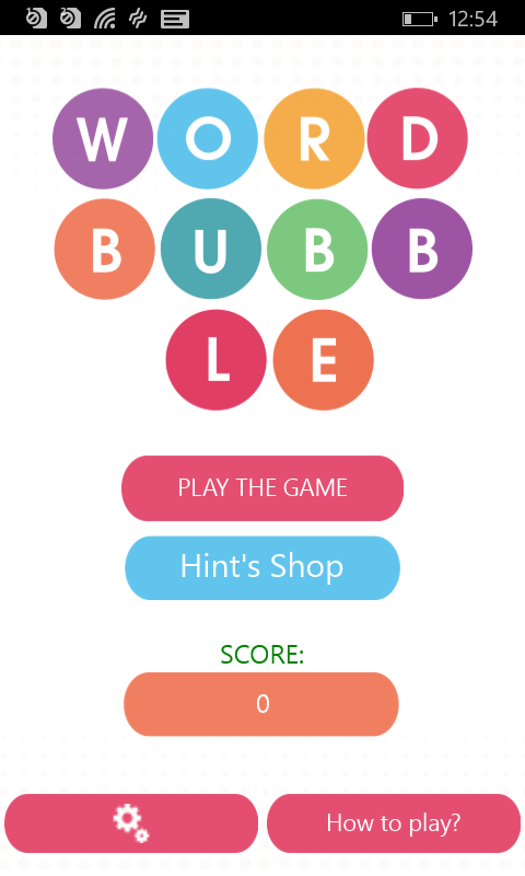 WordBubbles!-Addicting Word Game