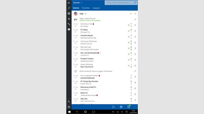 Get SofaScore LiveScore - Live Scores and Results - Microsoft Store