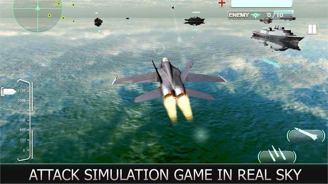 Get Air Force Jet Fighter 3D - War Plane Combat Attack