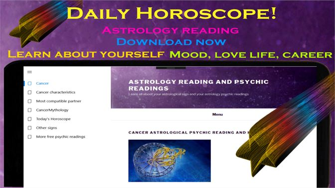 Get Cancer daily horoscope - Astrology psychic reading