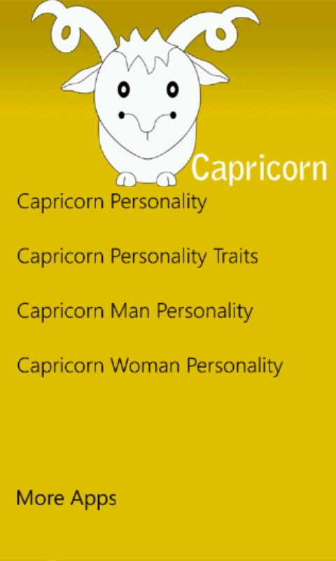 Capricorn male sex traits
