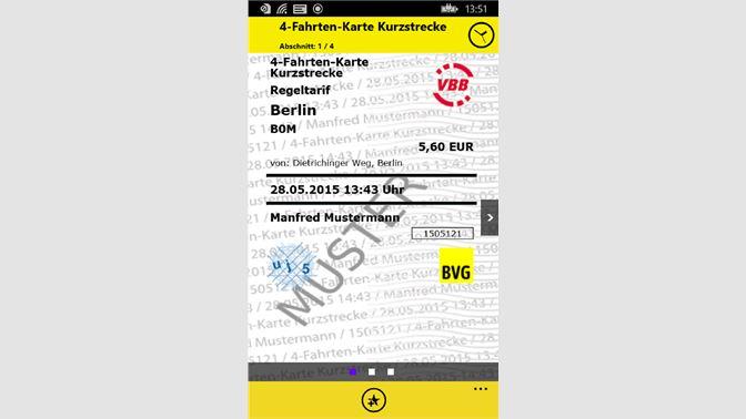 Bvg Fahrinfo Plus Beziehen Microsoft Store De De