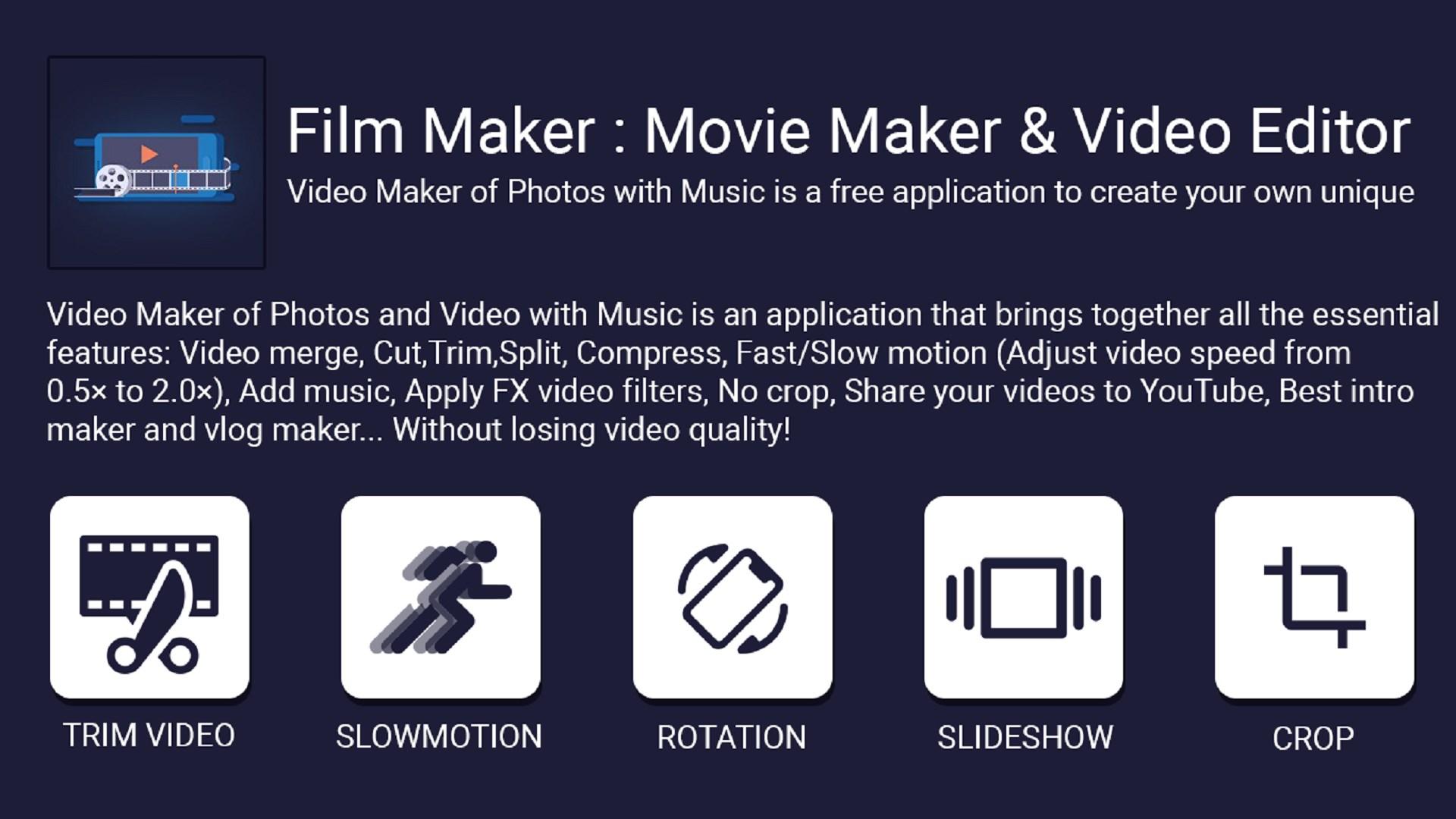 Get Filmmaker Movie Maker Video Editor Microsoft Store