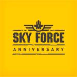 Sky Force Anniversary Logo