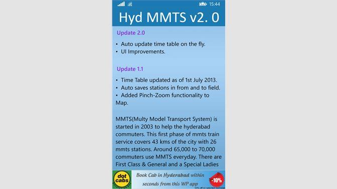 Get Hyd MMTS - Microsoft Store
