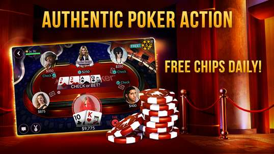 Zynga Poker Texas Holdem For Windows 10 Pc Free Download