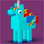 Animals 3D Color by Number - Voxel