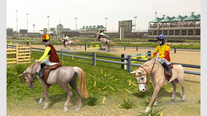 Get Horse Racing Simulator 3D - Derby Jockey Riding