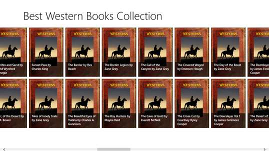 Best Western Books Collection screenshot 2