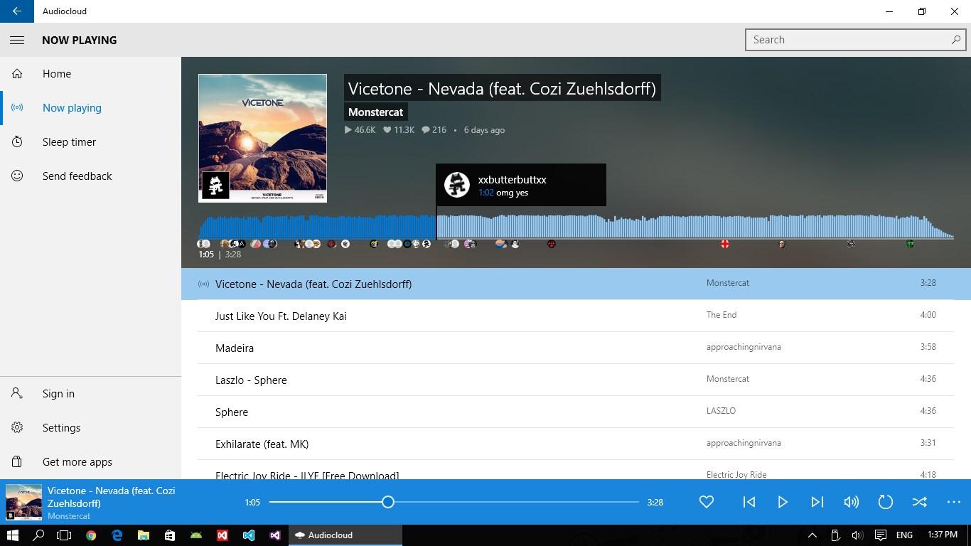 Audiocloud