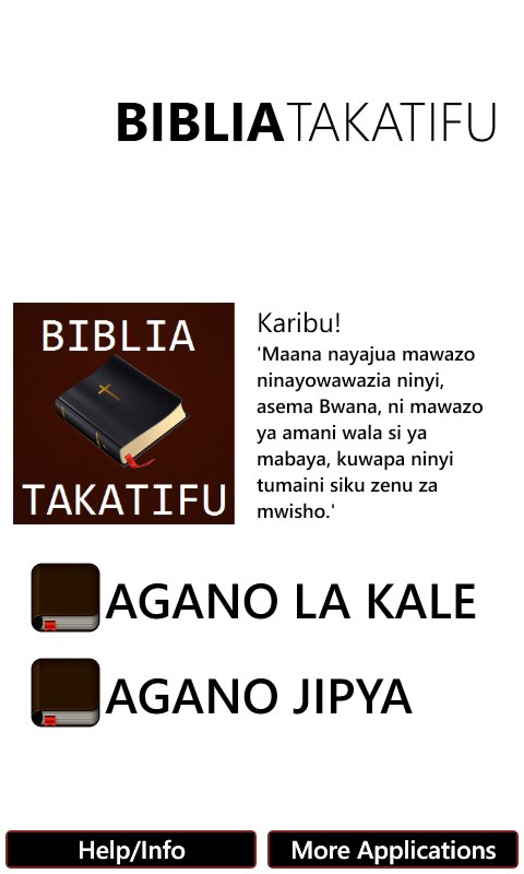 Bible In Swahili Free For Windows 10 Mobile
