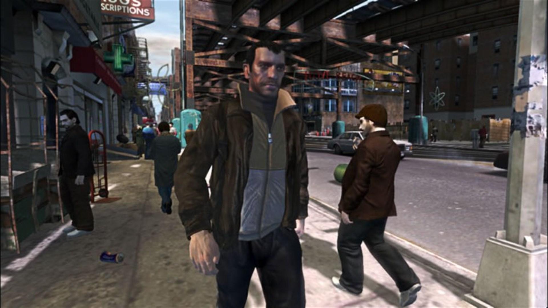 Скриншот №19 к Grand Theft Auto IV