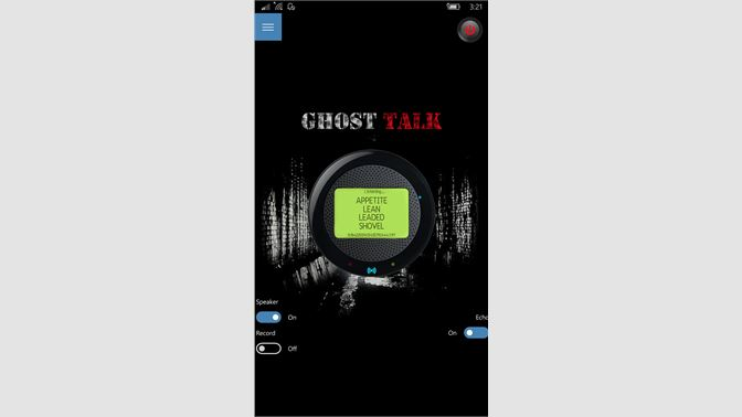 ghost communicator real