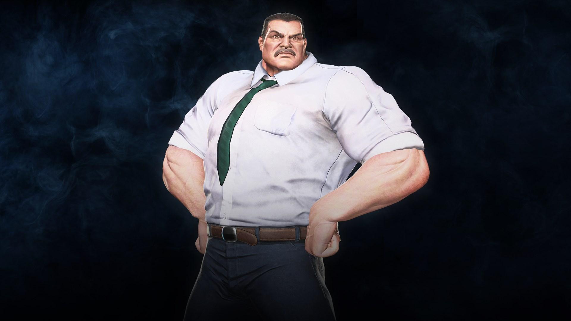 Marvel vs. Capcom: Infinite - Haggar Metro City Mayor Costume