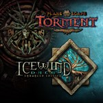 Planescape: Torment and Icewind Dale: Enhanced Editions Logo