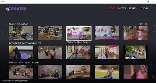 Pilates by fawesome.tv screenshot 2