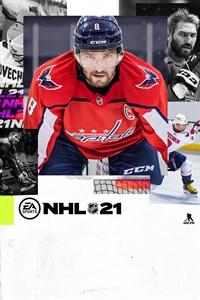 Carátula para el juego NHL 21 de Xbox 360