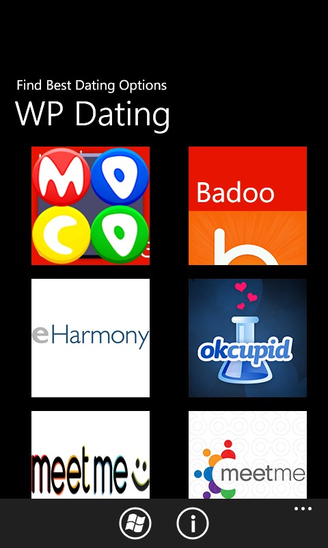 Dating webbplats program