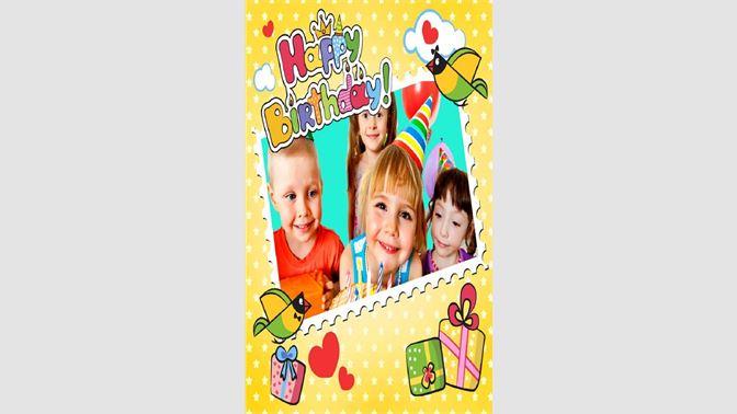 9576331b4f Get Birthday Photo Frame - Microsoft Store