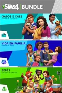The Sims™ 4 Bundle - Gatos e Cães, Vida em Família, Bebês Coleção de Objetos