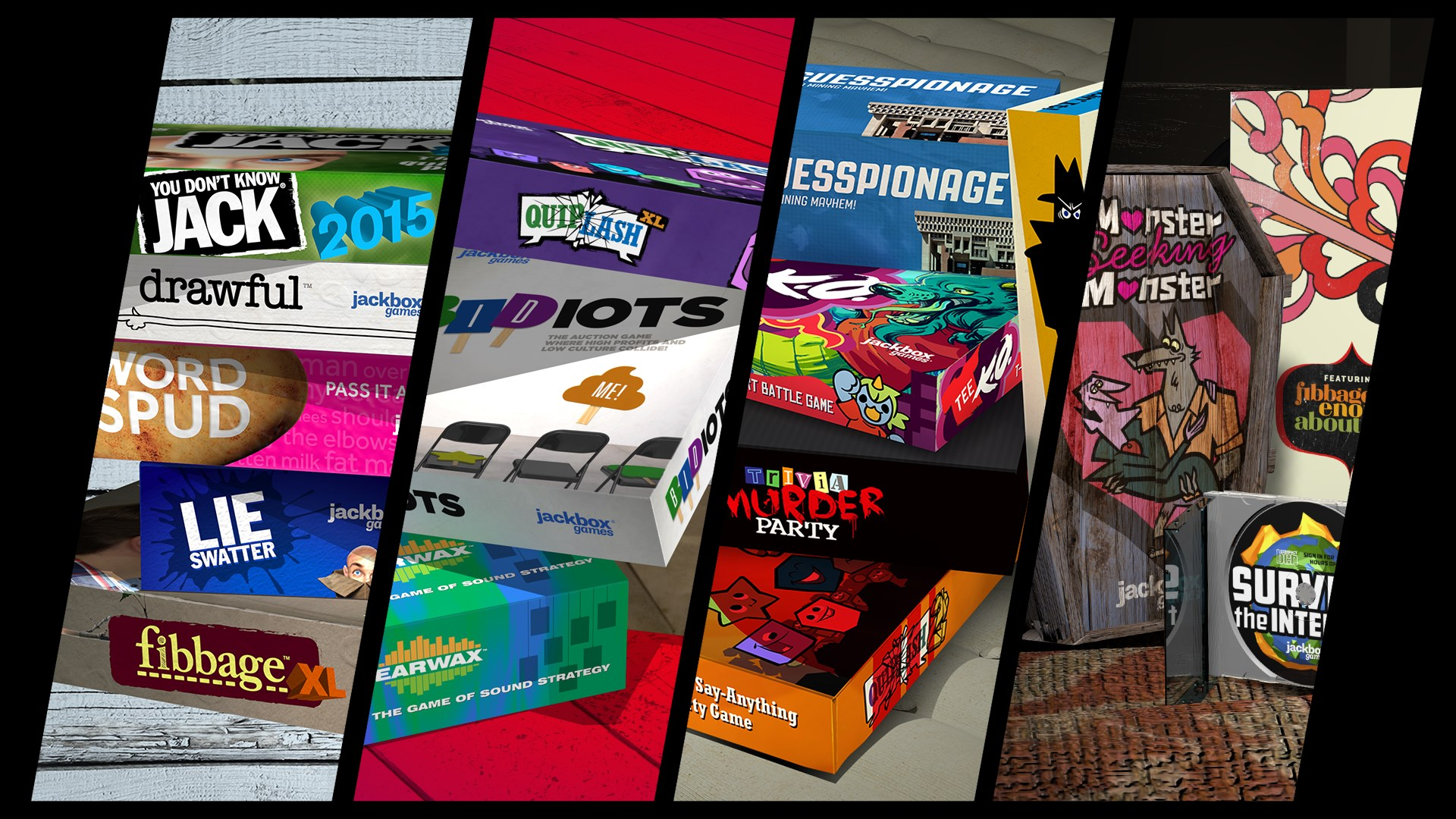 Buy The Jackbox Party Quadpack - Microsoft Store