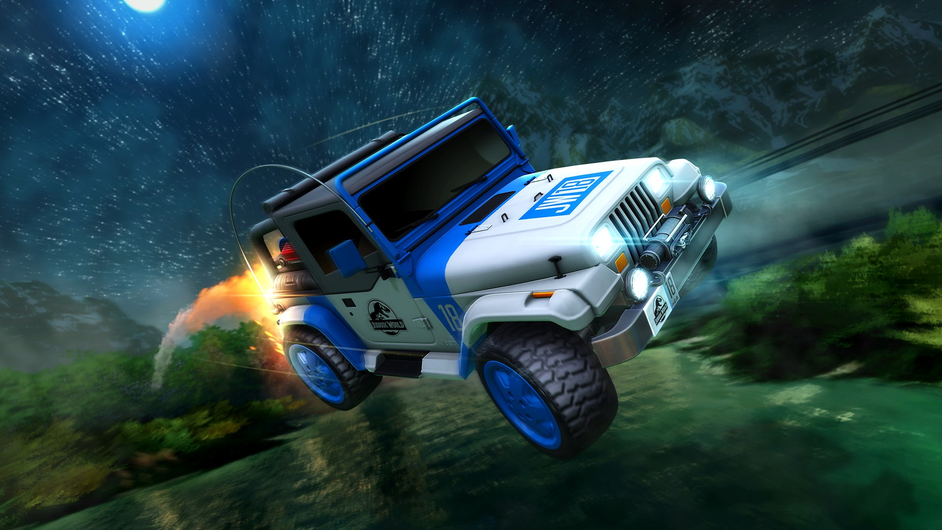 Rocket League® - Jurassic World™ Car Pack