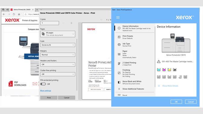 Xerox Print Experience Beziehen Microsoft Store De De