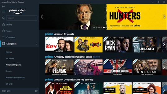 Amazon Prime Video for Windows screenshot 3