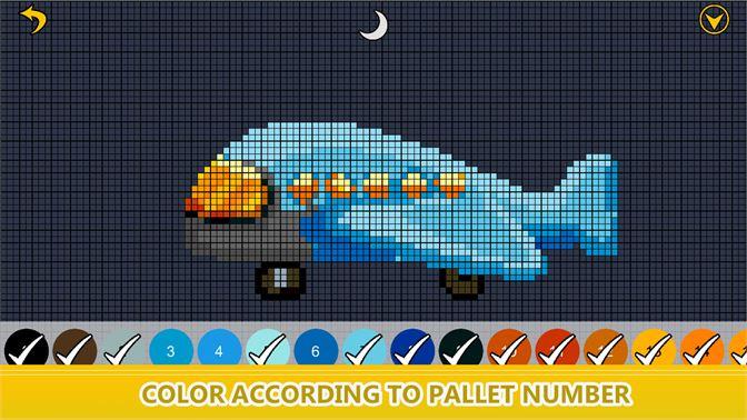Get Toys Color By Number Pixel Art Sandbox Coloring Book