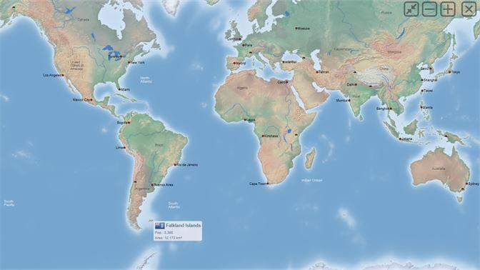 įsigykite World Atlas Quiz Mxgeo Free Microsoft Store Lt Lt