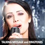 Talking Message and Ringtones