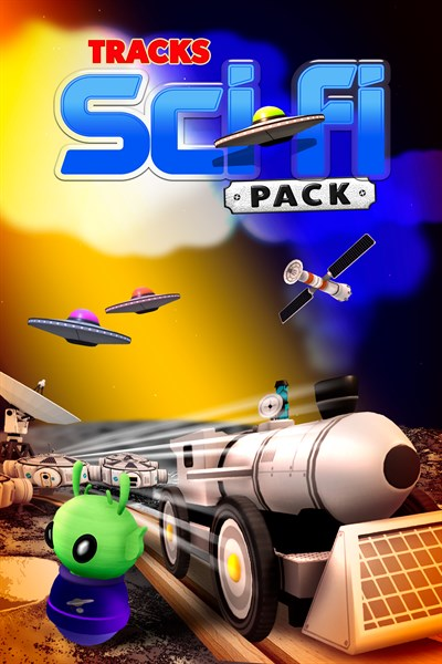 Tracks - The Train Set Game: Sci-Fi Pack