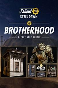 Carátula para el juego Fallout 76: Brotherhood Recruitment Bundle de Xbox 360