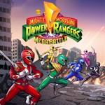 Saban's Mighty Morphin Power Rangers: Mega Battle Logo