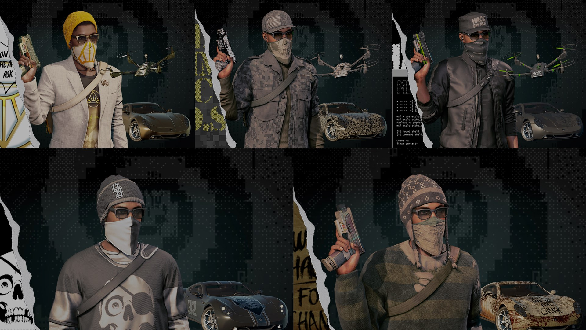 """WATCH_DOGS® 2 Supreme""-Pack"