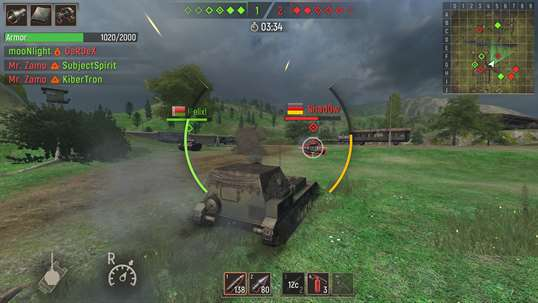Battle Tanks: Legends of World War II 3D Tank Games screenshot 8