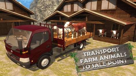 Hill Climbing Animal Transport 3d Screenshots 2