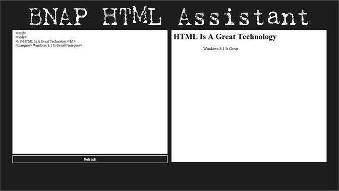 Get BNAP HTML Assistant - Microsoft Store