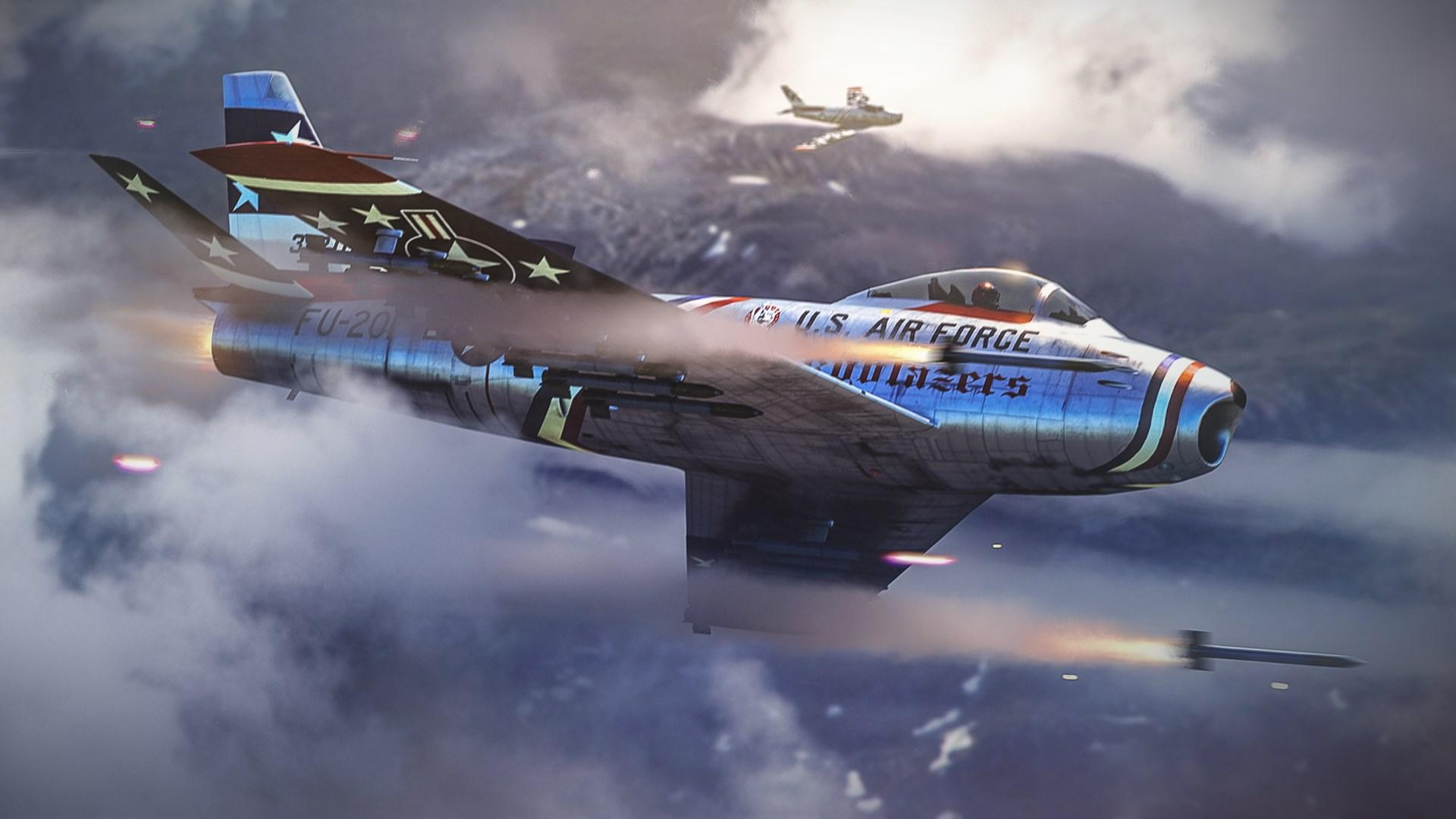 War Thunder - Sabre Skyblazers Pack