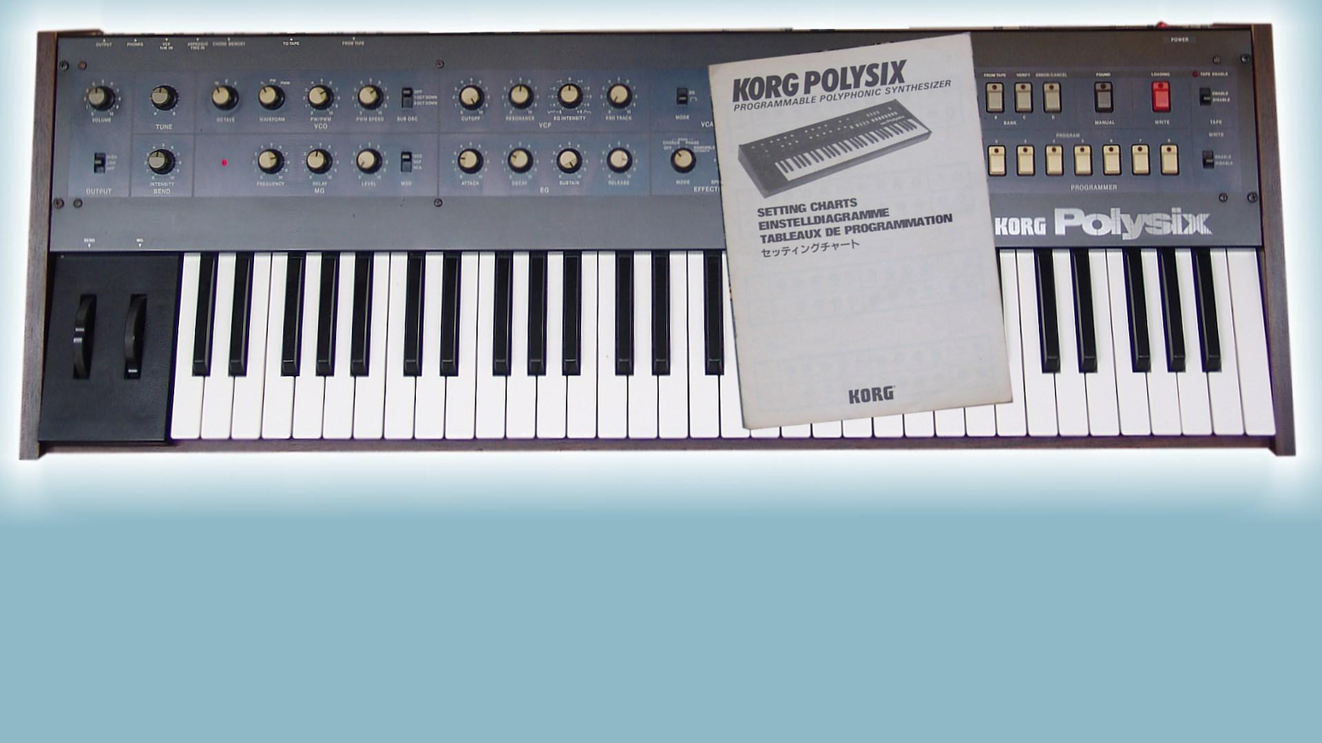 SoundDiviner Patch Sheet Plugin for Korg PolySix