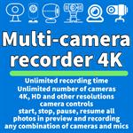 Multi Camera Recorder 4K Logo